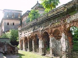 Ruins at Puthia, Rajshahi, Bangladesh.