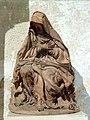 Rully (60), église Saint-Georges de Bray, La mère des douleurs, attribuée à Germain Pilon (ou copie), terre cuite, XVIe s..JPG