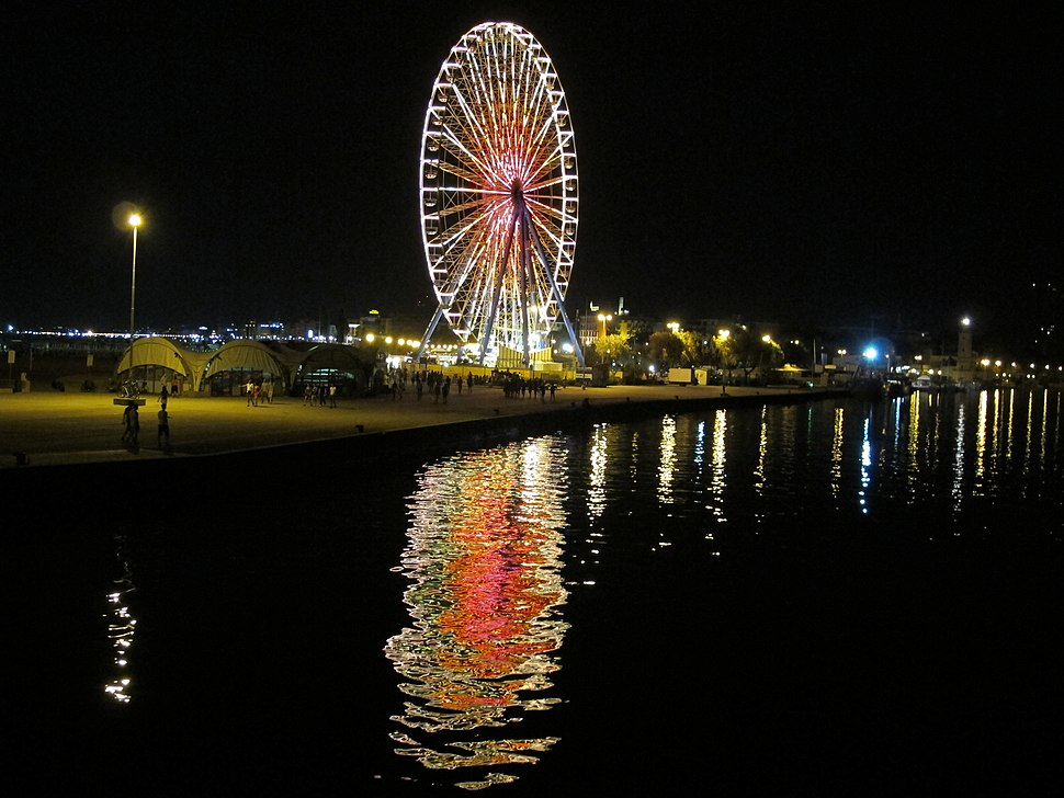 Ruota panoramica di Rimini, agosto 2012 (3)