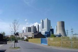 The RWE-owned Niederaussem Power Station.