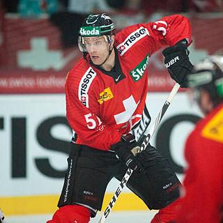 Ryan Gardner Swiss ice hockey player