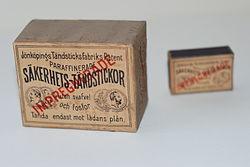 Patenterade säkerhetständstickor 373c031368740