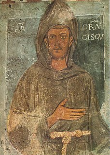 Francis of Assisi Catholic saint and founder of the Franciscan Order