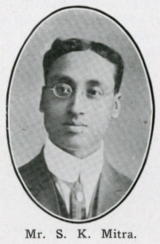 Sisir Kumar Mitra - S.K. Mitra, from the January 1916 issue of The Hindusthanee Student