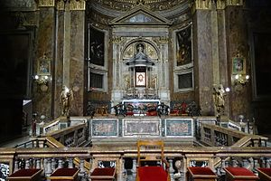 San Silvestro in Capite - High Altar, commissioned in 1518 by Pier Soderini of Florence