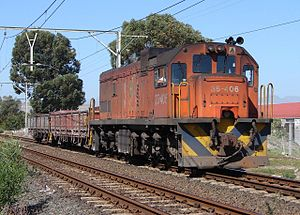South African Class 35-400 - No. 35-406 at Stikland, Cape Town, 13 March 2007