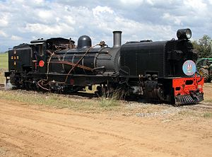 South African Class NG G13 2-6-2+2-6-2 - NG G13 no. 49 at Sandstone Estates, 9 April 2006