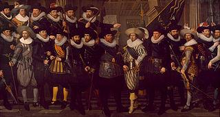 Guardsmen of the Company of Captain Jacob Pietersz. Hooghkamer and luitenant Pieter Jacobsz. van Rijn