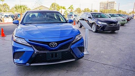 SEMA2017 Toyota Camry Heritage 1