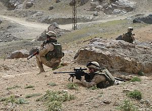 68th Special Forces Brigade (Bulgaria) - Bulgarian SF in deployment.