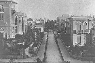 Tel Aviv - Shadal Street, 1926