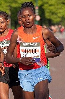 Priscah Jeptoo Kenyan long-distance runner