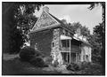 SOUTHWEST CORNER - William Harvey House, Brinton Bridge Road (Pennsbury Township), Chadds Ford, Delaware County, PA HABS PA,15-CHAFO.V,2-2.tif