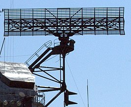 SPS-43 radar of USS Hornet (CVS-12) 2008.jpg