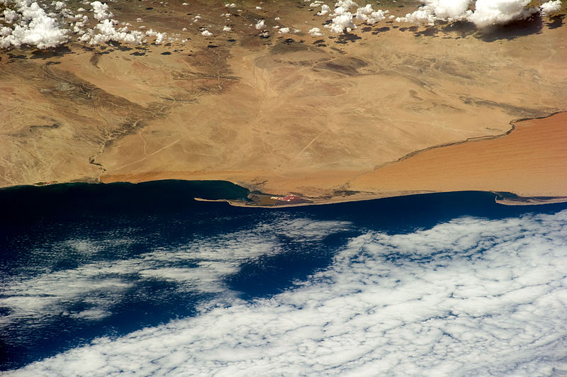 File:STS-133 An oblique view of Walvis Bay Namibia.jpg