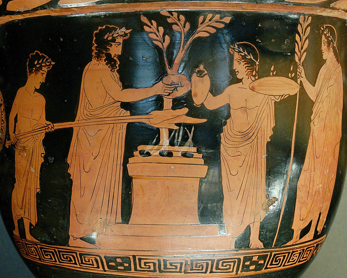 Matrimonio Segun Los Romanos : Oud grieks altaar wikipedia
