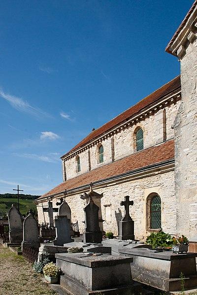 Sacy cemetery, France,