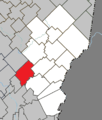 Saint-Benjamin Quebec location diagram.png