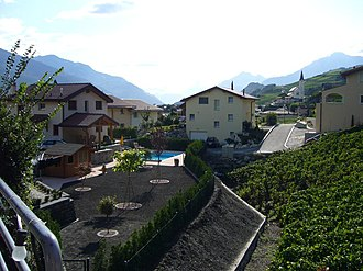 Saint-Léonard, Switzerland - Image: Saint Léonard 2