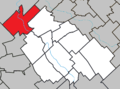 Saint-Lambert-de-Lauzon Quebec location diagram.png