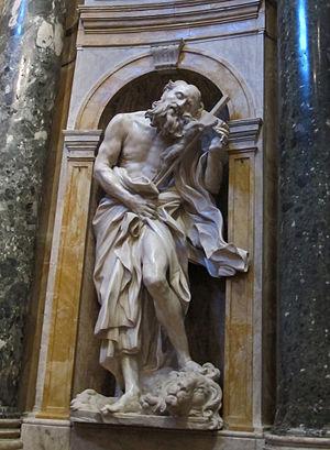 Saints Jerome and Mary Magdalen (Bernini) - Image: Saint Jerome by Bernini
