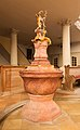 Saint Peter's and Paul's church, baptismal fonts, Oberammergau, Bavaria, Germany.jpg