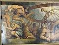 Sala degli elementi, crono, tra allegorie, mutila urano per originare i 4 elementi, di vasari, c. gherardi e m. da faenza 02.JPG