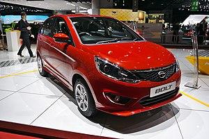 Tata Motors Cars - Image: Salon de l'auto de Genève 2014 20140305 Tata Bolt
