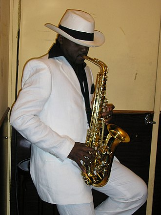 Music of the Republic of the Congo - Congolese saxophonist Sam Talanis