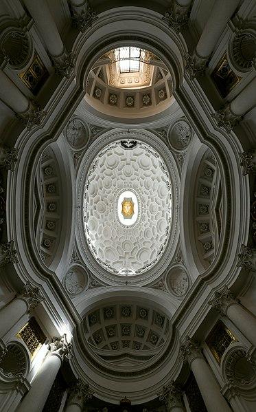 File:San Carlo alle Quattro Fontane (Rome) - Dome.jpg