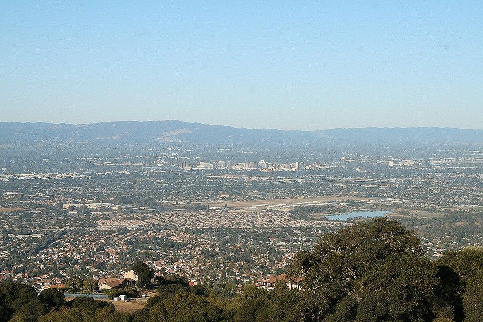 San Jose Skyline Silicon Valley