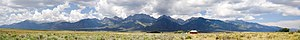 Sangre de Cristo Range - Seen from the San Luis Valley