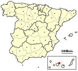 Santa Cruz de Tenerife, Spain location