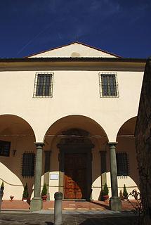 Santa Maria della Neve al Portico church building in Florence, Italy