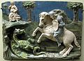 Santi buglioni (attr.), san giorgio e il drago, 1520 ca..JPG