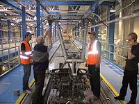 Sapsan DC pantograph in depot.jpg