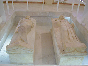 Carthage National Museum - The Sarcophages of the Priest and Priestess