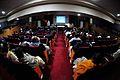 Saroj Ghose Addressing - Strategic Transformations - Museums in 21st Century - International Conference and Seminar - Kolkata 2014-02-14 3014.JPG