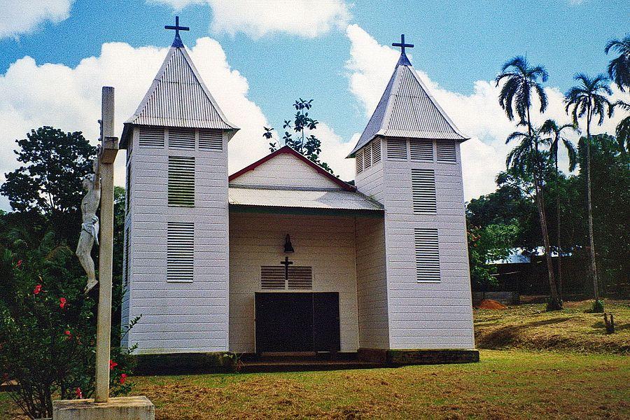 Église Saint-Antoine-de-Padoue de Saül,  (Classé, 1993)