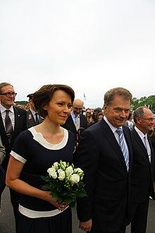 Sauli Niinistö Jenni Haukio