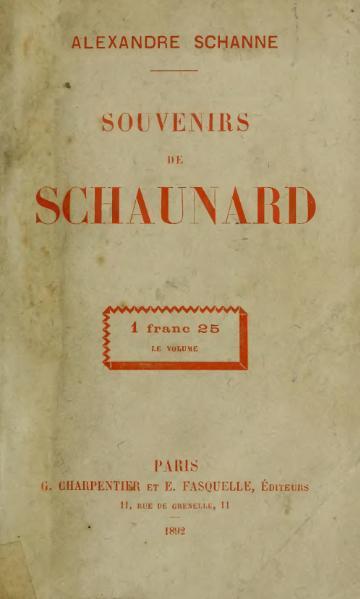 File:Schanne - Souvenirs de Schaunard, 1892.djvu