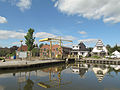 Scheemda, straatzicht met ophaalbrug 2012-09-01 15.18.jpg