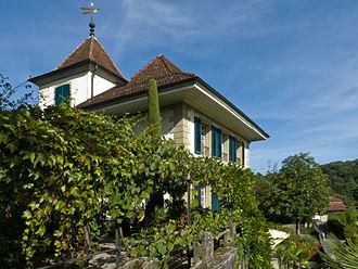 Bremgarten bei Bern - Image: Schloss Bremgarten Südseite