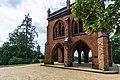 Schlosspark Babelsberg - Gerichtslaube - Blick zum Flatowturm - DSC4250.jpg