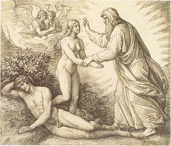 Schnorr von Carolsfeld - Die Erschaffung Evas