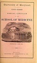 School of Medicine Catalog 1837-80 (1837) (14578363740).jpg