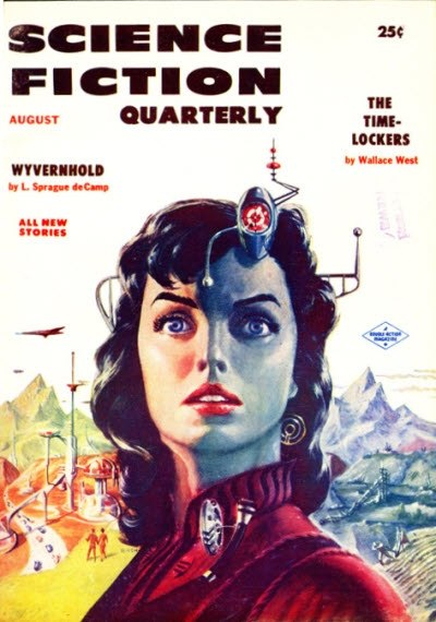 Science Fiction Quarterly August 1956