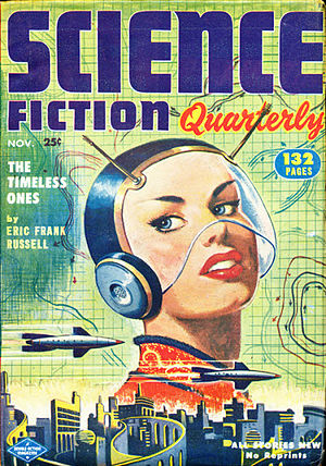 """Alfred Coppel - Coppel's """"Defender of the Faith"""" was the cover story in the November 1952 issue of Science Fiction Quarterly"""