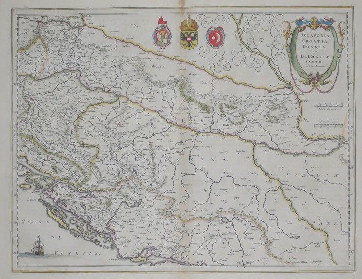 Sclavonia Croatia Bosnia Dalmatia 1643-50