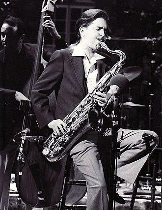 Scott Hamilton (musician) - Ray Brown (left) and Scott Hamilton in 1979